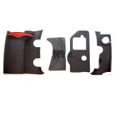 4 pieces Repair part of Grip Rubber Unit for Nikon D200 front Rear Side Cover