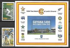 GUYANA STAMPS + SOUVENIR SHEET #3487-3489 (NH) FROM 2000