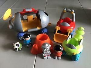 Elc Happyland Octonauts Astronaut planet Car Alien Toys Christmas Gift