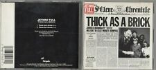 Jethro Tull  - Thick as a Brick (CD Chrysalis Records)