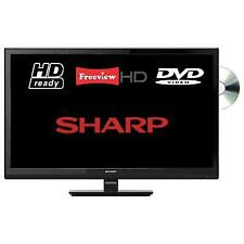 Sharp LC-24DHG6001K 24in Smart DVD/Combi TV in Black