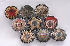 Magnet Lot Set of 9 Medal Order Socialist Yugoslavia Labor Flag Merit Partisan B