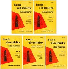 BASIC ELECTRICITY Vol. 1-5 - A Rider Publication (1954) - CD