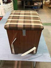 T2 Westfalia Wooden Buddy Seat / Storage Box Beige C9609BE