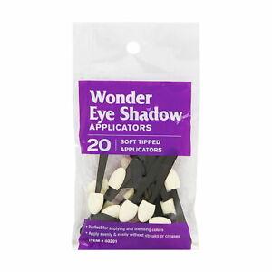 Wonder Eye Shadow Applicators 20 Soft Tipped Applicators Brand New
