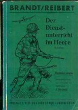 Bundeswehr:Brandt/Reibert:Der dienstunterricht im Heere 18.Auflage 1960