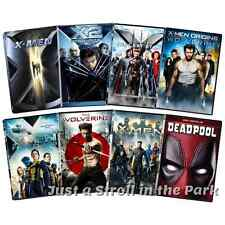 X-Men Xmen Complete Film Series Collection + Deadpool Box / DVD Set(s) NEW!