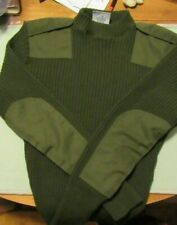 NEW U.S. MILITARY USMC ARMY AF ISSUE 100% WOOL SWEATER MENS SIZE 38 PULLOVER