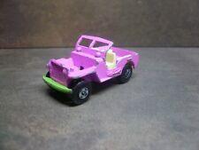 Matchbox / Superfast - Jeep Hot Rod   No. 2 rosa e verde