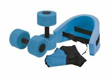 """""""Aqua Fitness Exercise Set - 6 Piece Water Exercise Aerobic Belt, Barbells and Workout Routine"""""""
