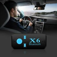 3.5mm Stereo Musik Audio Adapter Kabellos Auto Bluetooth Empfänger USB AUX