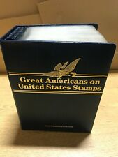 Great Americans on United States Mint Stamps & 22kt Gold Replica's on Covers Set