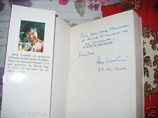 """""""Le Secret du chat huant"""" Anne Courtillé avec Envoi autographe 2001 Moyen-âge"""
