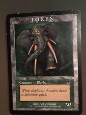 Elephant Token | Player Rewards Promos | Magic MTG Odysee Elefant Spielstein