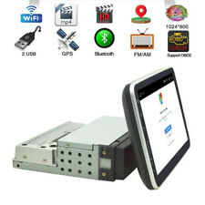 Screen Rotatable Car MP5 Player 1Din Quad Core WiFi/3G/4G GPS Hotspot/Bluetooth