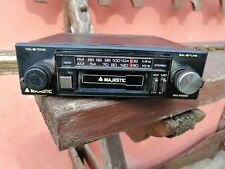 majestic sd-602 autoradio, tape radio old car vintage