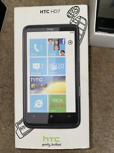 HTC HD 7 16GB Black Smartphone With Box Leads Etc Must Go NOW Make Offer