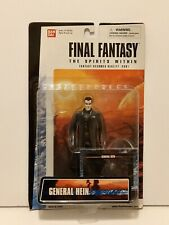 FINAL FANTASY THE SPIRITS WITHIN GENERAL HEIN ACTION FIGURE BANDAI 2000