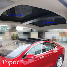 Topfit Panoramic Roof Sunshade Shield Visor For Tesla Model S