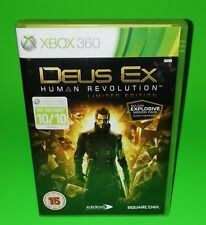 Deus Ex Human Revolution XBOX 360 Microsoft Video Game FREE UK P&P Square Enix
