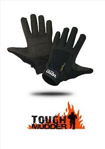NEW Raptor Elite Padded Tough Mudder/Event Full Fingered Gloves XS/S/M/L/XL/XXL