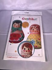 The Red Thread Ooshka Babushka Pattern Kit