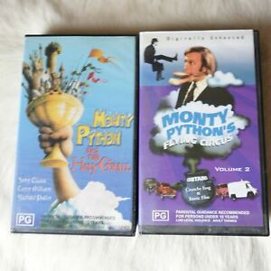 MONTY PYTHON 2x VHS An the Holey Grail Flying Circus Volume 2 Comedy Humour