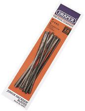 Genuine DRAPER 10 x 14 tpi Wood Cutting Junior Hacksaw Blades | 39007