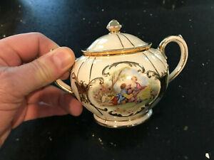 Sadler Vintage Cream / Sugar Bowl