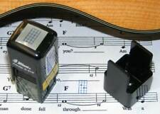 Small 4 String Fret Stamp, Self-Inking , Ukulele, Banjo & Other Instrum., BLUE