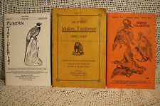 lot taxidermy magazines Modern Taxidermist 1945 directory spring 1975 1981