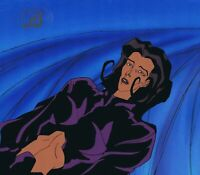 AEON FLUX ORIGINAL 1990'S PRODUCTION CEL MTV LIQUID TELEVISION BLUE