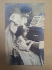 antique post card BREITKOPF & HAERTEL N. Year Card 1908