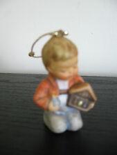 1997 Berta Hummel Boy Nativity Christmas Tree Ornament Porcelain Goebel Figurine