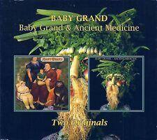 BABY GRAND - B.G. 1977 + Ancient Medicine 1978 (2 album) RARE CD