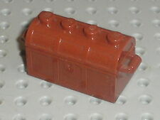 Coffre LEGO OldBrown container 4738a / set 6290 6280 6289 6291 6296 6281 6264 ..