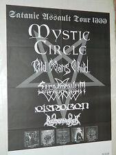 MYSTIC CIRCLE  - Affiche Originale / Original Concert Poster - 59 x 84