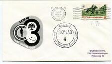1973 SKYLAB 4 Carr Gibson Pogue Ramstein Recovery Control Center Cinceur NASA