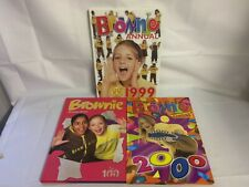 Brownie's Annuals x3 - Vintage 1999 & 2000 as well as 2010 Annual