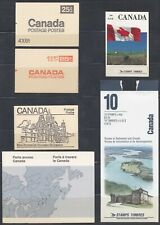 Canada: 1989: Six Booklets As scan, MNH / CTO