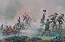 Mort Kunstler Follow Me Limited Edition Civil War Print S/N