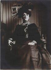 Portrait d'une femme France Vintage citrate snapshot ca 1900