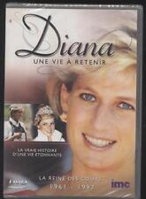 NEUF DVD DIANA UNE VIE A RETENIR DOCUMENTAIRE REINE DES COEURS 1961-1997