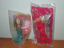 Mcdonald's Happy Meal toy BARBIE # 1 Barbie and # 6 Ken (A)