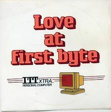 "ITHistory (198X) Rare Sticker: ITT XTRA Personal Computer ""Love At First Byte"" Q"