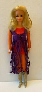 Vintage 1970 Mattel Barbie Live Action PJ Doll #1156 Original Outfit