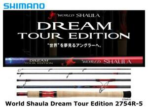 Shimano World Shaula Dream Tour Edition 2754R-5 spinning rod ship from Japan