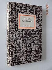 Insel-Bücherei Nr. 900. Thomas Mann: Deutsche Hörer. 1971, sehr selten