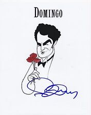 PLACIDO DOMINGO SIGNED CLASSIC OPERA TERNOR 8X10 PHOTO AWESOME WOW!!!!!!