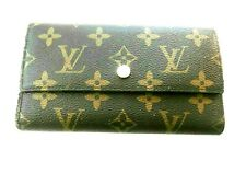 AUTHENTIC Louis Vuitton Woman's Monogram Portefeuilie Sarah Long Trifold Wallet
